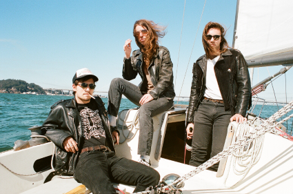 Band Pic on the Boat