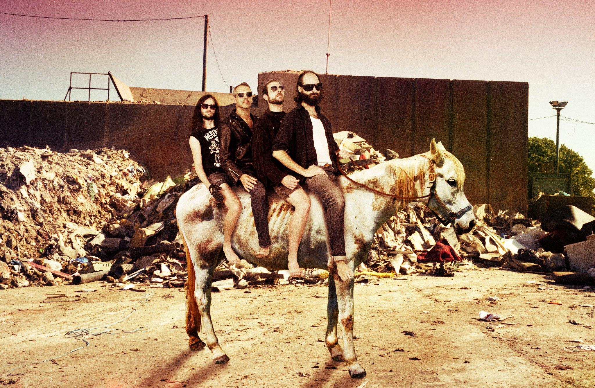 Band on Horse