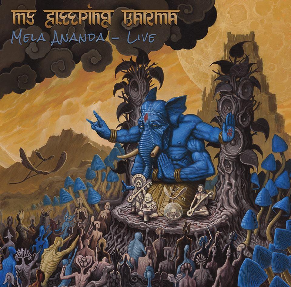 Mela Ananda Live_Album Cover