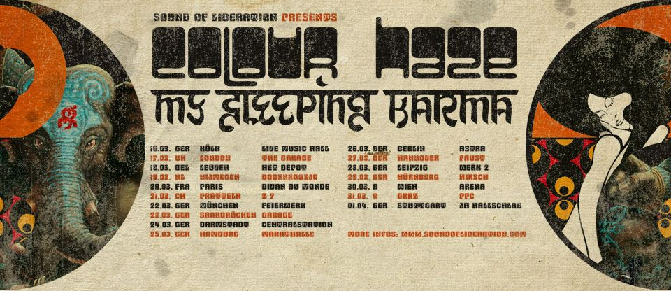 Touring Schedule with Images