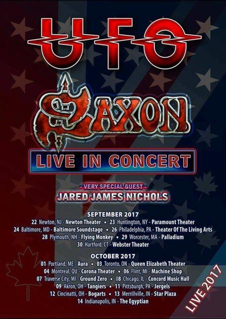 UFO-SAXON Tour