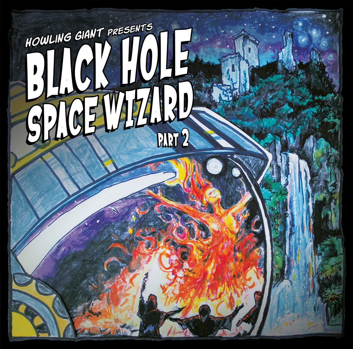 Black Hole Space Wizard_Part II_Album Cover