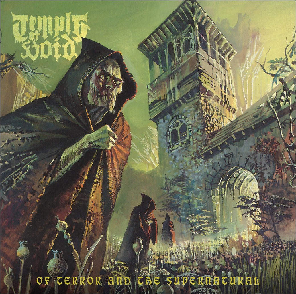 Of Terror And The Supernatural_Album Cover
