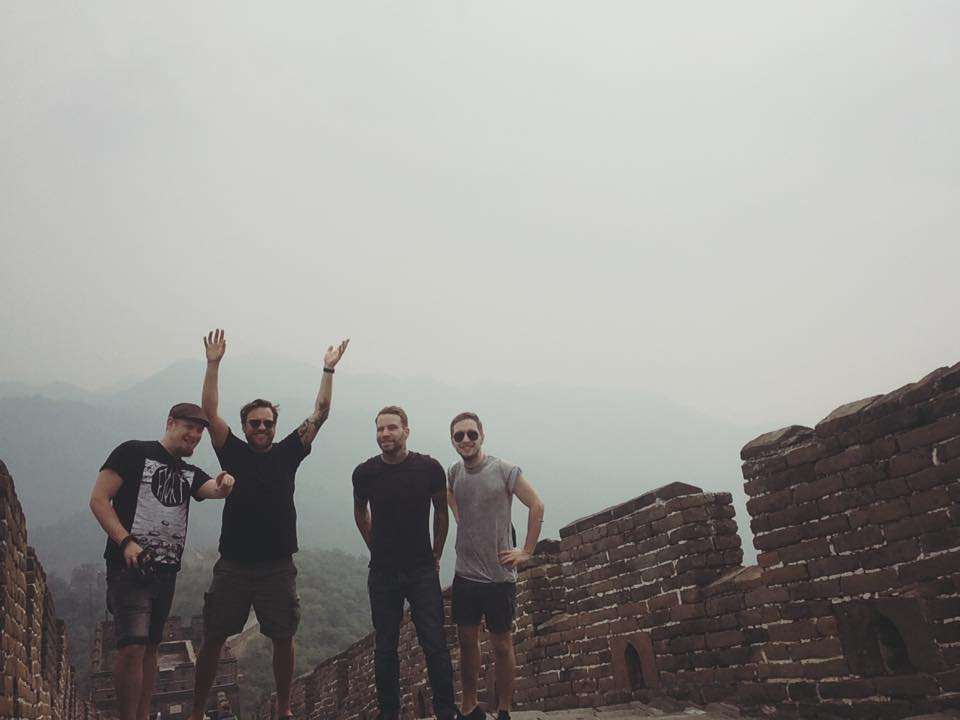 Our Ceasing Voice at The Great Wall in China!!