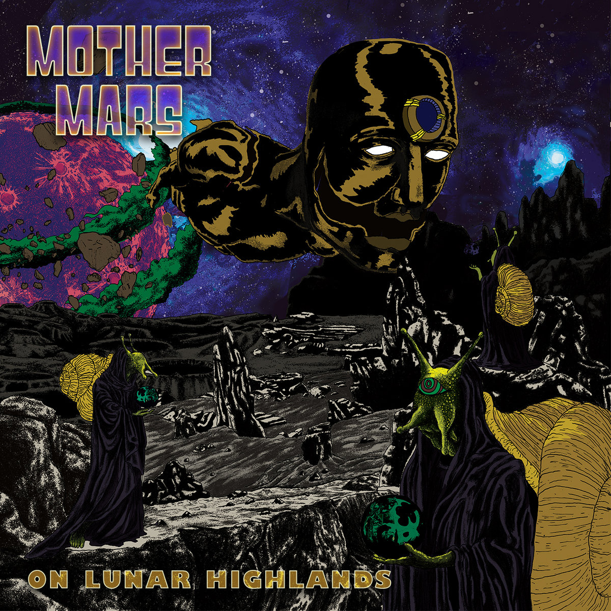 On Lunar Highlands_Album Cover