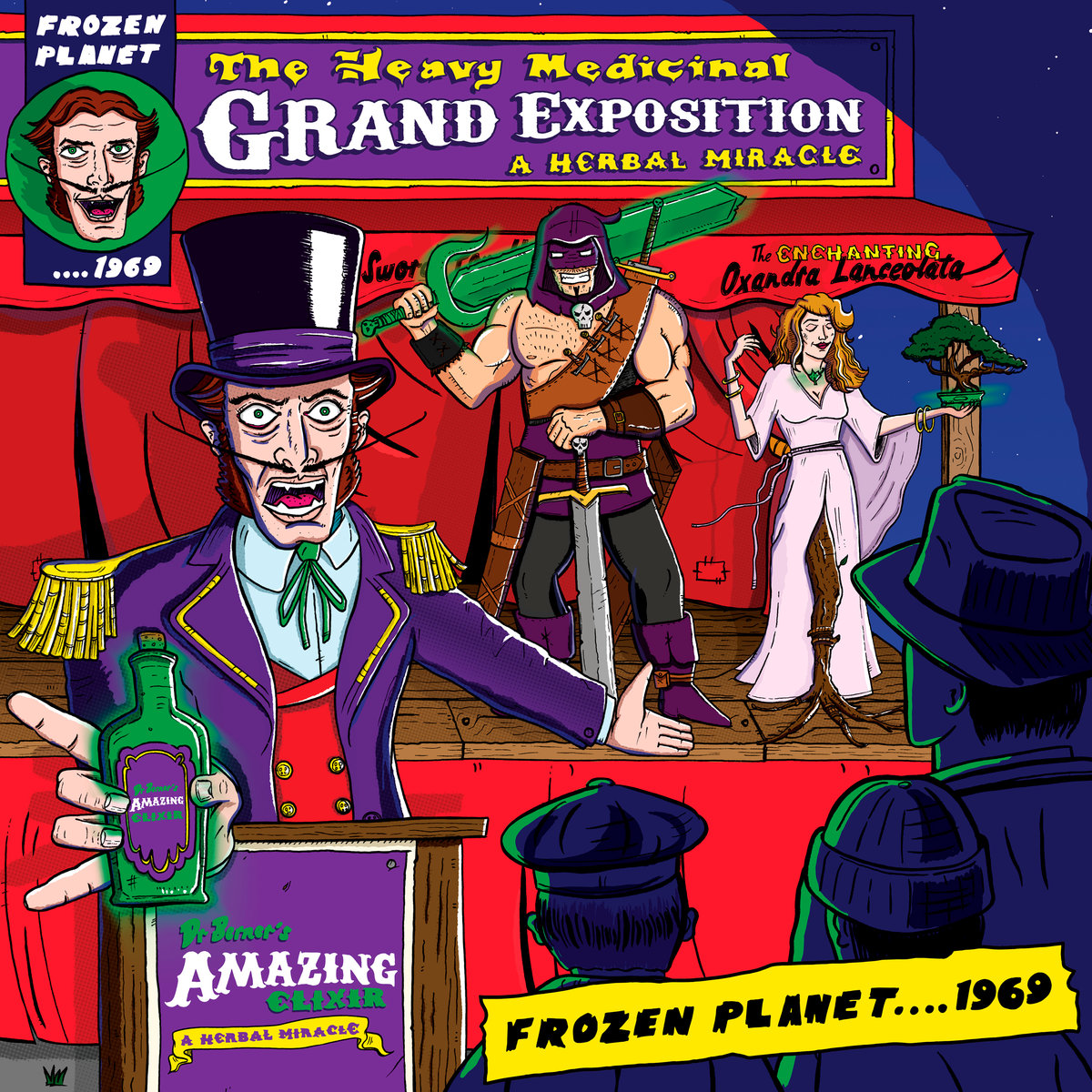 The Heavy Medicinal Grand Expo_Album Cover